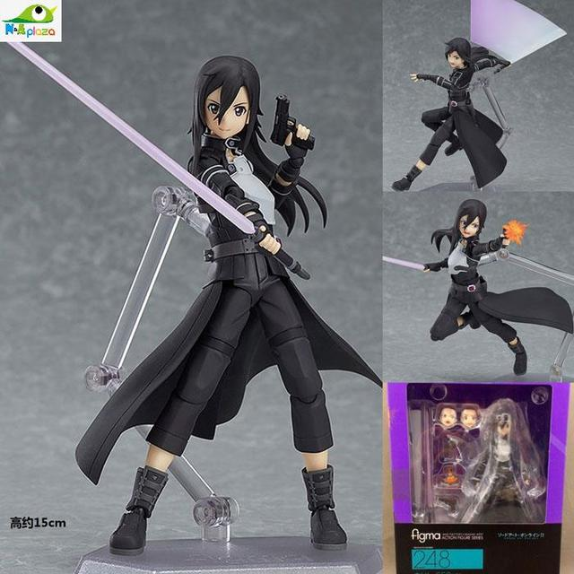 Anime Sword Art Online Figma Kirito Asuna Figure PVC Action Figure Collection Model kids Toy 3