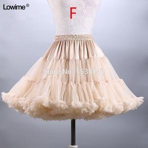 Image 2 - ยืดTulle Petticoatผู้หญิงTuTuสั้นกระโปรงร้อนขายงานแต่งงานอุปกรณ์เสริมสต็อกPetticoatsชุดสาว2019