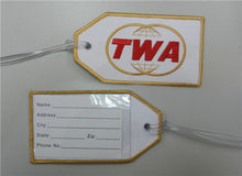 TWA Airlines Golden Globes Tas Tag(China)