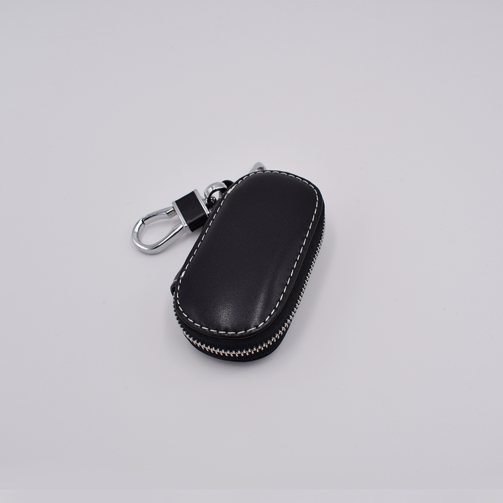 Best quality 2019 hot Vintage Genuine Leather Car key holder case Key Protective scirocco Coverwoman men for Mercedes benz in Key Case for Car from Automobiles Motorcycles