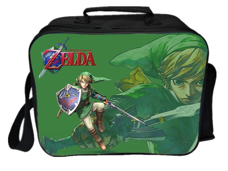 Bolsa de Isolamento Caixa de Armazenamento de Alimentos Novo Legend Zelda Bolsa Térmico Estudantes Escola The of