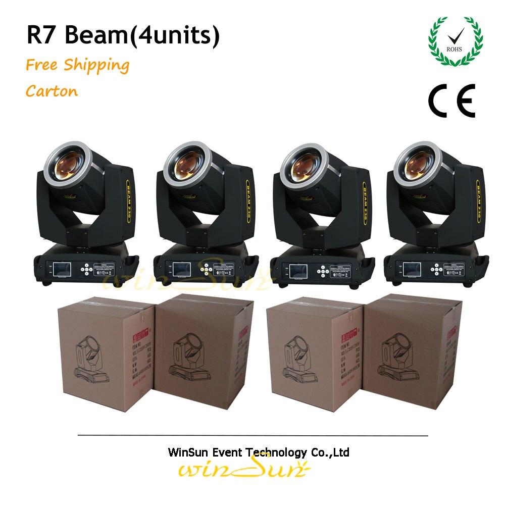 Litewinsune этап Освещение светильник Beam R7 4 единицы Бесплатная доставка