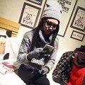 Women Telefingers Gloves Warm Beanie Plus Thick Velvet Hat Scarf Gloves Set Ladies Winter Scarves Beanie Gorros Plain Ring Scarf