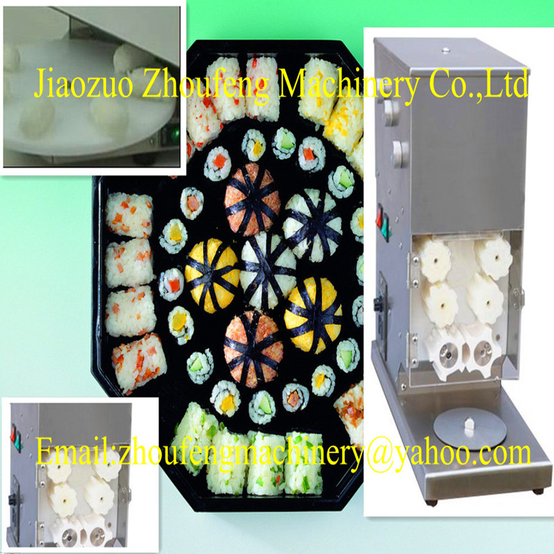 Satılık elektrikli suşi pirinç rulo yapma makinesi