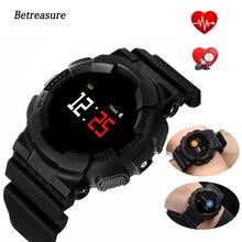 Betreasure Bluetooth Relógio Inteligente Rastreador De Fitness Pressão Arterial/Monitor de Freqüência Cardíaca Relógio Inteligente Relógios À Prova D' Água Ao Ar Livre