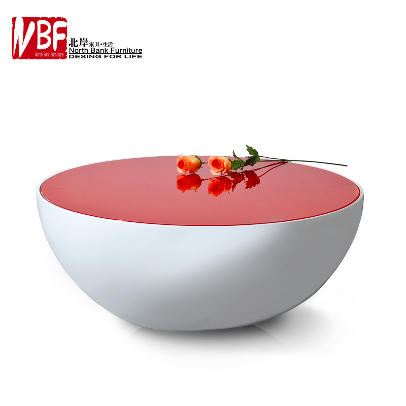 North Shore Minimalist Fashion Round Glass Coffee Table Modern Japanese  Style Served In Big Bowls A Few Creative Storage In Coffee Tables From  Furniture On ...