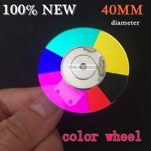 40MM diameter projector color wheel for Acer EV-S20T S11T 6color