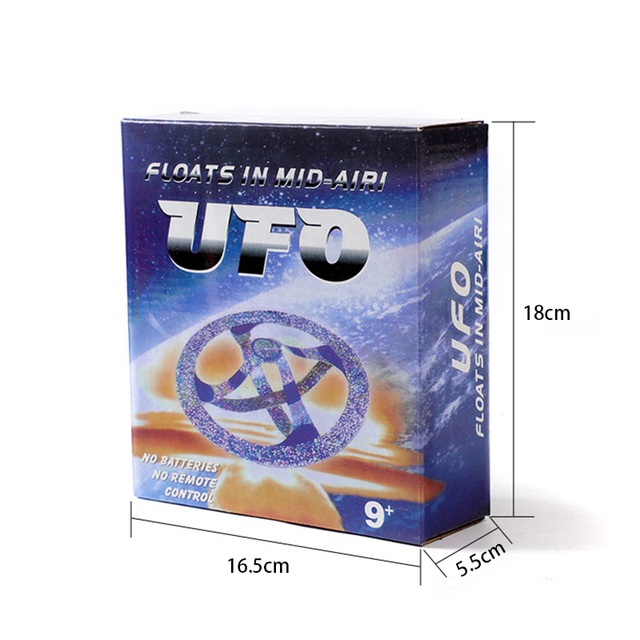 Magic Floating Flying Trick Disk Anti Stress Fun Magic UFO Floating Trick Toys Outdoor Leisure Educational Toy For Children