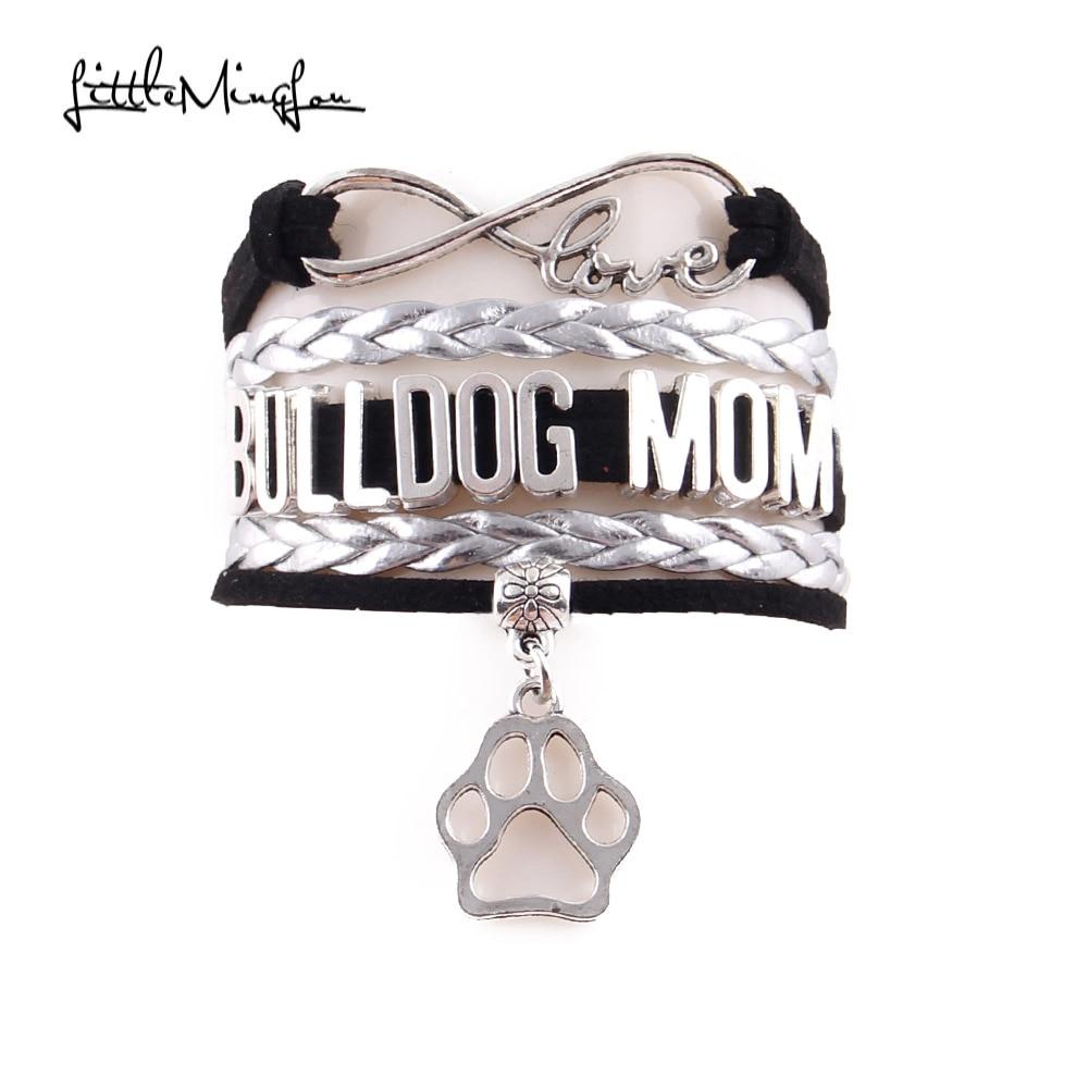 little-minglou-infinity-love-bulldog-mom-bracelet-dog-paw-charm-leather-wrap-bracelets-bangles-for-women-jewelry-drop-shipping