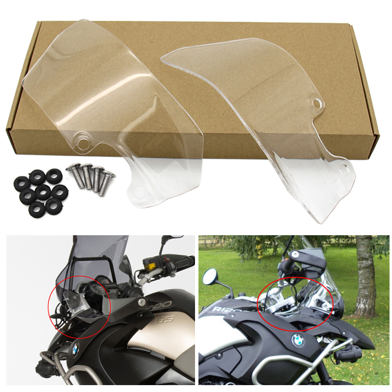 GS1200/<font><b>R1200GS</b></font> 04-12 Side Windshield Windscreen Wind Deflector for <font><b>BMW</b></font> <font><b>R1200GS</b></font> ADV 2005 2006 <font><b>2008</b></font> 2010 2011 image