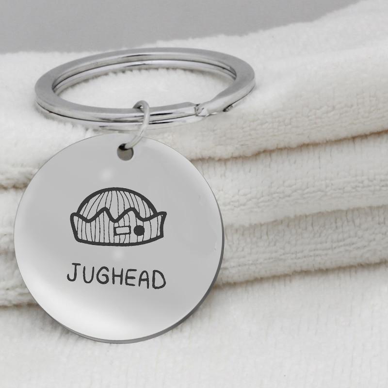 304 stainless steel Key Holder Jewelry FPS game pendant fortnite JUGHEAD pendant K095