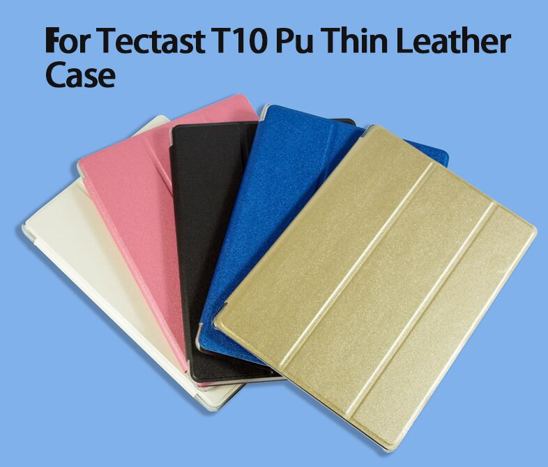 Ultra thin fashion pu leather case For Teclast T10 10.1 Tablet PC Protective Cover
