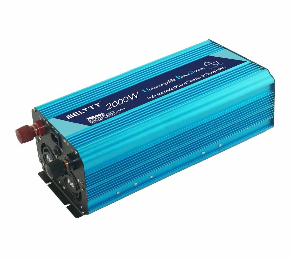 Free shipping 12vdc to 220vac inverter 2000w built in 20a amps ...