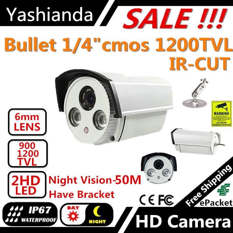 bilder für Super 50 mt nachtsicht karte sicherheit cctv-kamera IR tag und nacht schalter kamera Hd HD1200TVL videoüberwachung