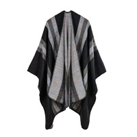 Women's imitation cashmere, big fork, Amazon, hot summer ethnic scarf, new winter scarf, cloak of air conditioning cloak.