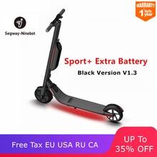 Нет налога на CA США ЕС AU RU Оригинальное Ninebot ES2/ES4 электрический велосипед мини Портативный складной Смарт Двухколесный самокат