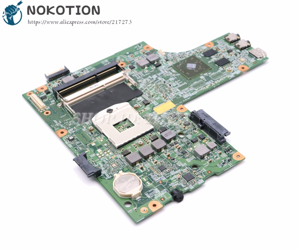 NOKOTION CN-0VX53T 0VX53T VX53T 48.4HH01.011 Laptop Motherboard For Dell inspiron 15R N5010 Main Board HM57 DDR3 HD5470 graphics nokotion main board for dell 15r 5520 motherboard system board cn 0n35x3 0n35x3 la 8241p ddr3