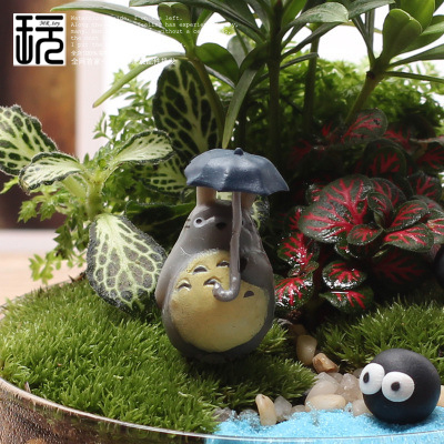 Aliexpresscom Buy Mini Totoro Craft Micro Resin Fairy Garden