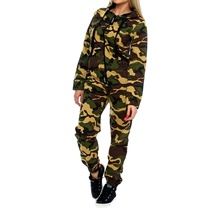ZOGAA Tracksuit TWO PIECE SET Camouflage T Shirt Crop Top Leggings for Women Fitness Track Pant Work Out Sporting Suit Female