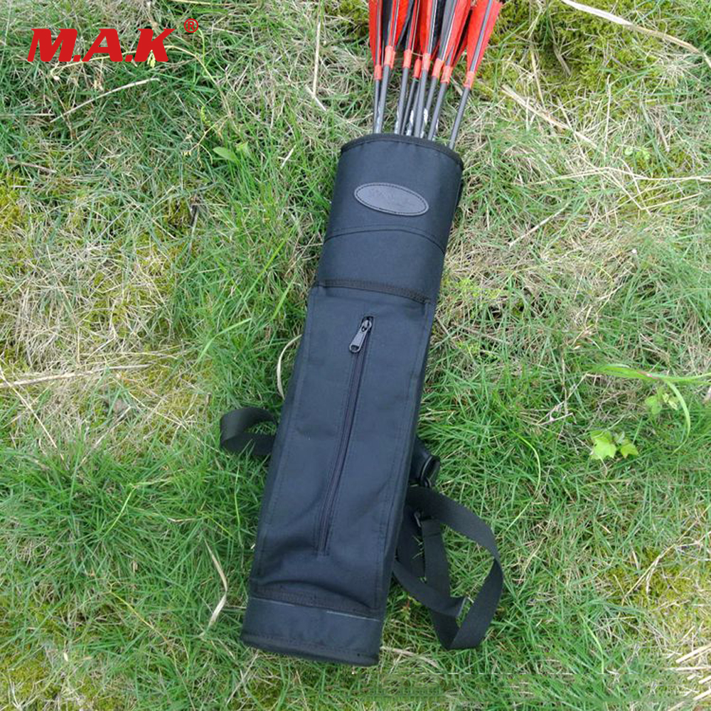 Arrow Quiver 54x13 x6.5 cm in Black/Camouflage Oxford 600Dpvc Waterproof for Traditional Recurve Bow Archery Hunting Shooting dmar archery quiver recurve bow bag arrow holder black high class portable hunting achery accessories