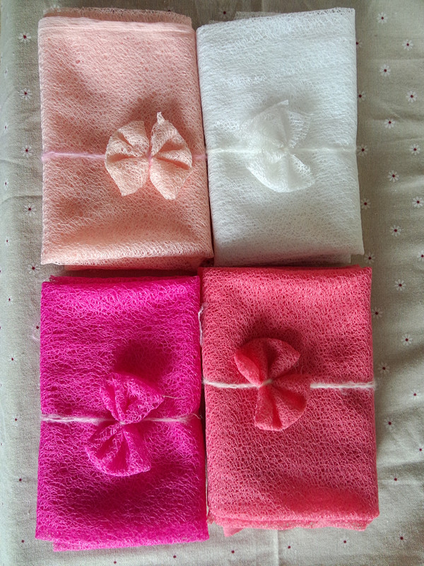 160*50cm Mesh Gauze Cheesecloth Wraps with Matched Flower Headband Full Set For Newborn Photography