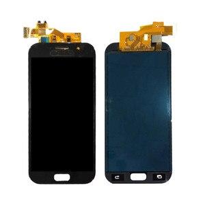 Image 2 - 100% اختبار LCD لسامسونج غالاكسي A5 2017 A520 A520F SM A520F شاشة تعمل باللمس محول الأرقام استبدال أجزاء أدوات مجانية