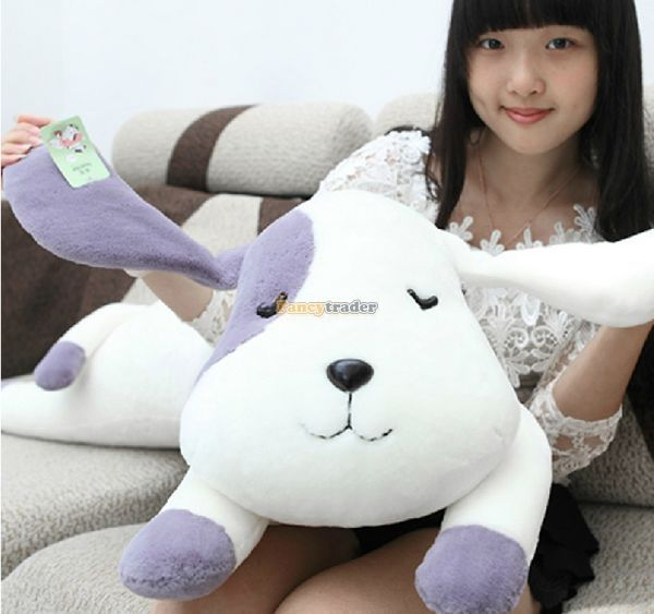 Fancytrader 39'' / 100cm Soft Giant Plush Stuffed Jumbo Dog Toy, 3 Colors Available, Nice GIft For Babies, Free Shipping FT50236 fancytrader 2015 new 31 80cm giant stuffed plush lavender purple hippo toy nice gift for kids free shipping ft50367