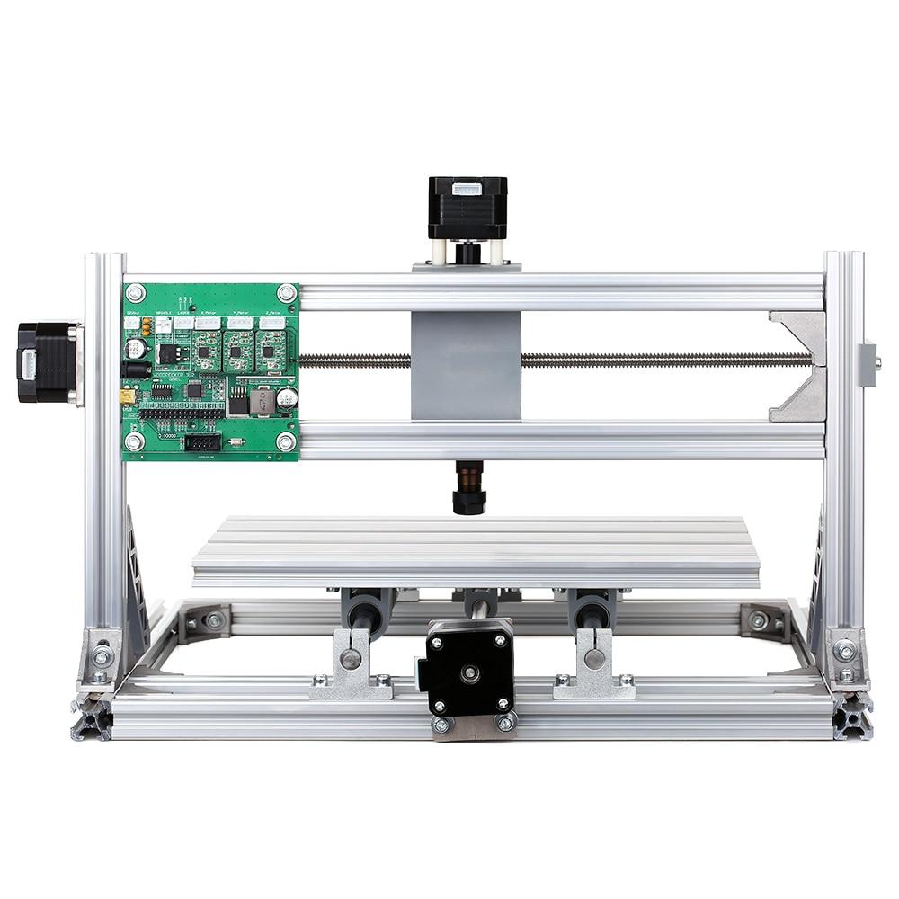 Professionnel 2-en-1 CNC bricolage CNC Mini Machine de gravure routeur Kit GRBL contrôle 3 axes sculpture sur bois fraiseuse Machine de gravure