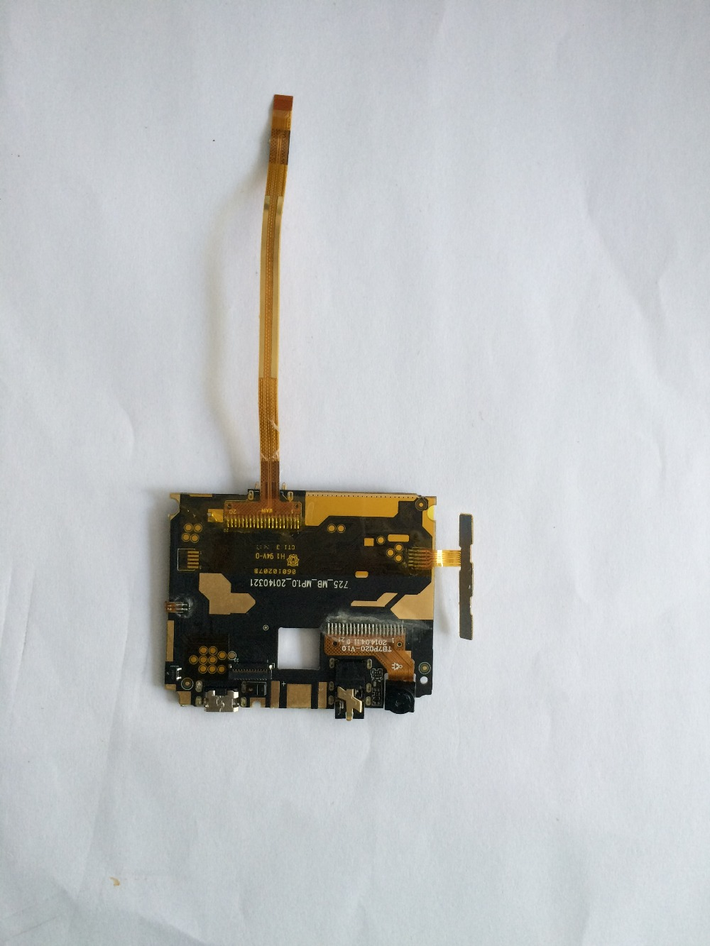 Used mainboard 512MB RAM+4G ROM Motherboard For Smartphone M-HORSE S72, OS Android 4.2.2, Dual-core, 5.0 Free shipping