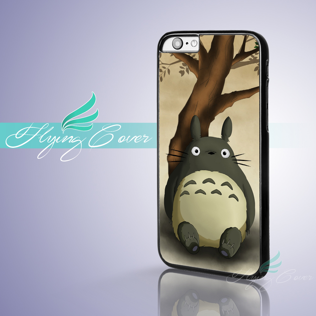 Coque My Neighbor Totoro Fundas Phone Cases for iPhone X 8 8Plus 7 6 6S 7