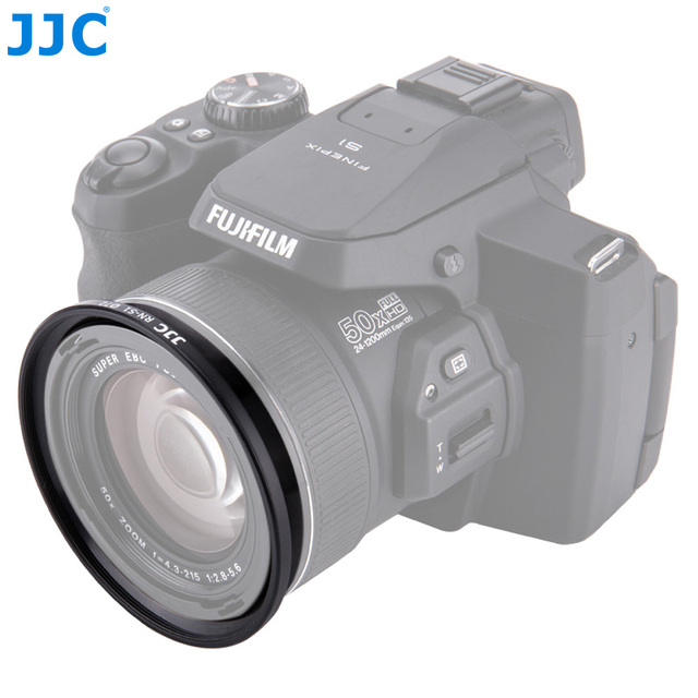 JJC RN S1 72 ミリメートルカメラフィルターリング変換レンズアダプタチューブ富士フイルム FinePix S1