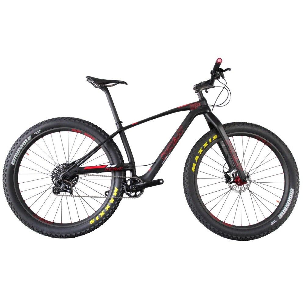 2019 Pro Super light 10.6KG MTB Carbon bike 29+ Mountain,MTB 29er bike ,29 plus carbon complete bike 29+ bicicletas