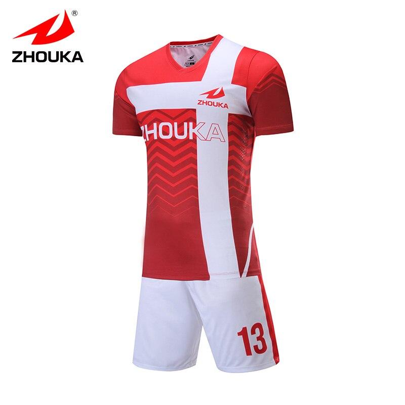 Custom Soccer Jersey Set Sublimation Print Personalize