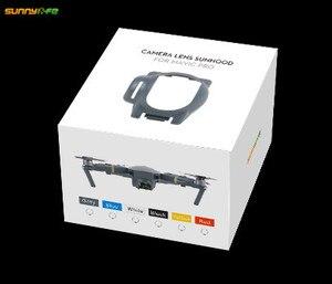 Image 5 - Sunnylife Mavic PRO Gimbal lente de la Cámara cubierta de protección solar Protector para DJI Mavic PRO Accesorios