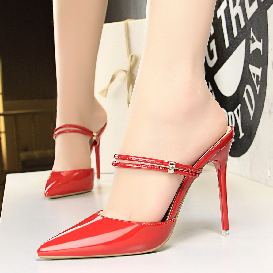2018 Shoes woman summer spring Shallow pointed toe office lady pumps Sexy High heel sandals chaussure dress Party Shoes xiaying smile woman sandals shoes women pumps spring summer pointed toe sexy fashion casual thin heel cover heel flock shoes