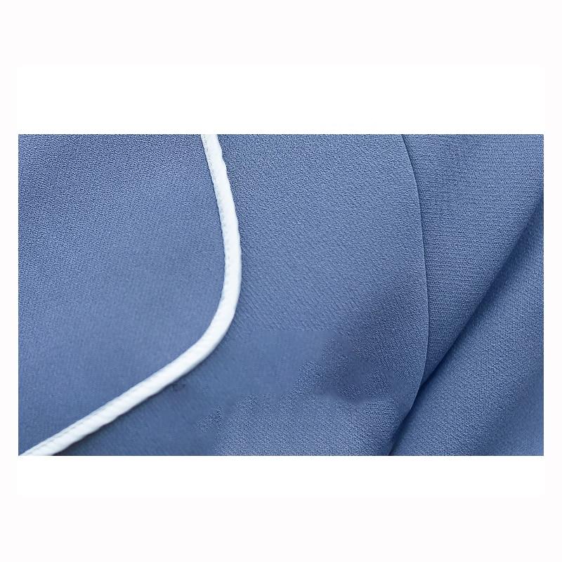 Section vent Vers Bas Femmes Manteau Tranchée black Automne Apricot Coupe Mode 2018 Réglable blue Version Le Nouvelle Taille Femelle De Z219 Tournent Longue Coréenne 4Upq8wpxv