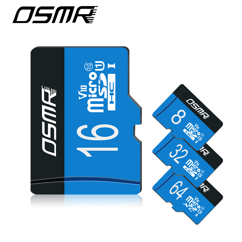 U3 128G Real capacity H2 test Micro SD card memory cards 8GB/16GB/32G class 10 micro sd card 90M 64G TF Card or TYPE-C OTG MICRO