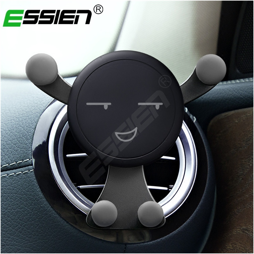 Essien Gravity Stand For Phone Car Cell Phones Holder Smartphone Stand Universal Car Phone Holder Snap-type Phones GPS Stand