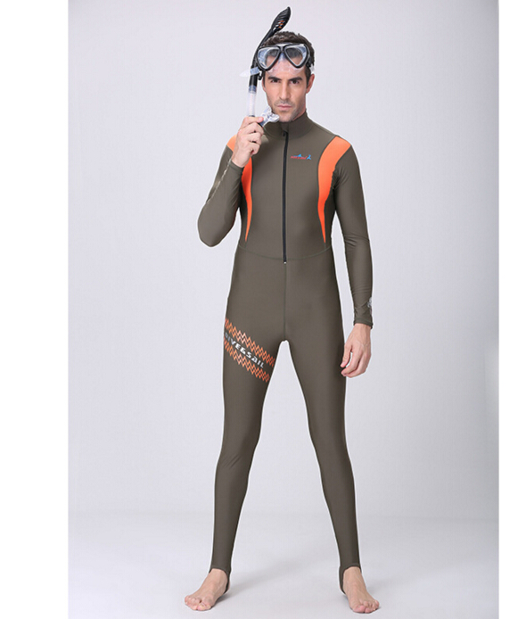 359ae1393e7 DIVE   SAIL Men s Women s Surfing Freedive Lycra Swimwear Wetsuit Diving  Skin Suit Rashguard Swim Wetsuit-in Wetsuit from Sports   Entertainment on  ...