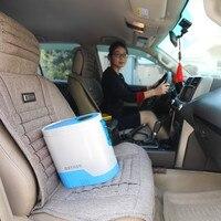 Coxtod дома и путешествия мини портативный концентратор кислорода с аккумулятором и автомобильное зарядное устройство