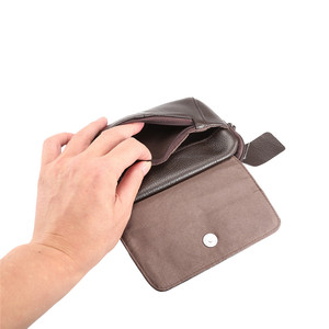 Image 5 - 100% جلد طبيعي الخصر حقيبة آيفون/سامسونج هاتف ذكي حقيبة كتف حزام الحقيبة ل أقل من 6.5 بوصة الهواتف المحمولة