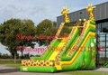 2016 superventas nuevo diseño de diapositiva inflable PVC meterial de calidad comercial para la venta