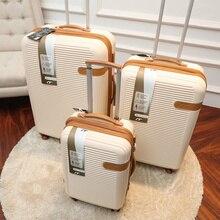 Британский бренд багаж на ролликах 19/25/29 дюймов чемодан на колесах, устойчивое к царапинам чемодан износостойкая посадки стильный чемодан