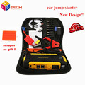 Newest Design Car Jump Starter 16000mah Emergency Power Bank For Petrol/Diesel Multi-function Booster Car Charger Battery