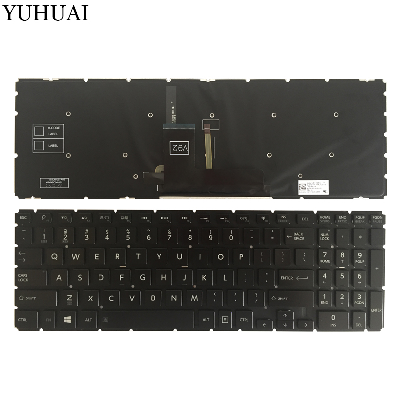 New US laptop keyboard for Toshiba Satellite Radius P55W P55W-B P55W-B5224 P55W-B5220 P55W-B5318 US keyboard Backlit Black new us keyboard black for toshiba satellite a500 a505 p200 p300 p505 l500 l505 l535 l550 l350 x505 x500 f501 laptop us keyboard