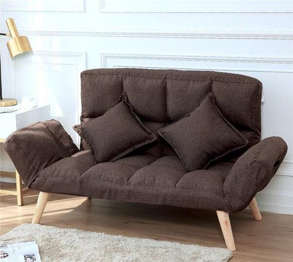 Japanese Futon Sofa Lounger Sit Lounge Sleep Small Sofa Furniture ...