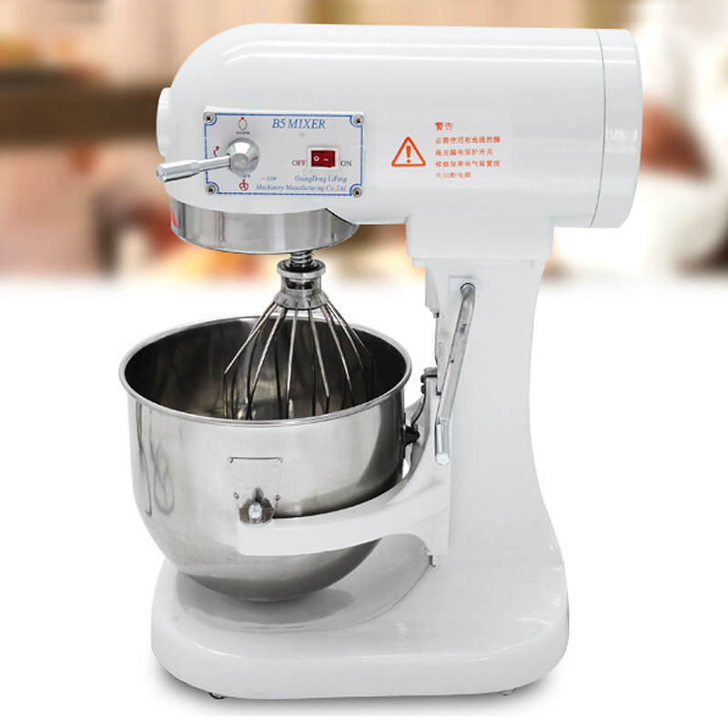 VOSOCO Dough kneading machine 180W 220V 5L Blender agitator amalgamator mixing beater mixer commingler eggbeater dough mixer