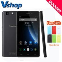 Original DOOGEE X5 3 Г Мобильный телефоны Android 5.1 1ГБ RAM 8ГБ ROM MT6580 Quad Core 720P 8.0MP Камера Dual SIM 5.0 дюймов Сотовый Телефон смартфон