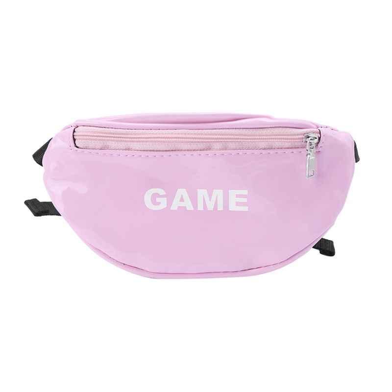 82c73d5e83a5 ... Модные лазерные поясные сумки для детей с буквенным принтом, забавный  пакет, мини-детские ...