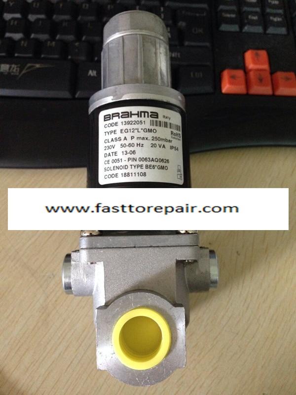 BRAHMA Solenoid Valves EG12*L*GMO For gas burner New & Original honeywell ignition solenoid valves ve410aa1003t 3 8 for gas burner new
